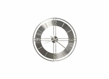 "Stapleton 30"" Wrought Iron Wall Clock - Howard Miller"