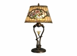 Star Flower Table Lamp With Led - Dale Tiffany