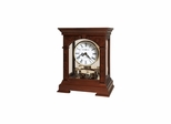 Statesboro Cherry Bordeaux Mantel Clock - Howard Miller