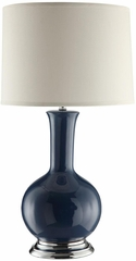 Steel Blue Table Lamp - Set of 2 - 901269