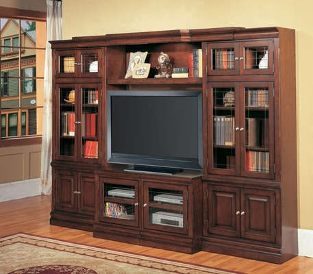 Sterling 4-Piece Entertainment Center Set 1 - Parker House - STE-SET-3