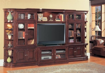 Sterling 6-Piece Entertainment Center Set - Parker House - STE-SET-4