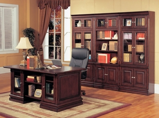 Sterling Executive Library Wall Unit - Parker House - STE-SET-2
