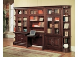 Sterling Library Wall Unit 1 - Parker House - STE-SET-1