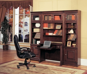 Sterling Library Wall Unit 2 - Parker House - STE-SET-5