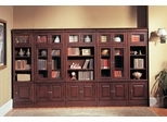 Sterling Library Wall Unit 4 - Parker House - STE-SET-7