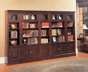 Sterling Library Wall Unit 5 - Parker House - STE-SET-11