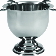 Stinky Cigar 4 Stirrup Ashtray in Stainless Steel - CA-ST-4ST