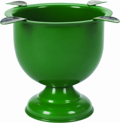 Stinky Cigar 4 Stirrup Tall Ashtray - Forest Green - CA-ST-4GR