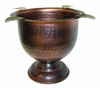 Stinky Cigar Antique Hammered Copper Tall Ashtray - CA-ST-4HCOP