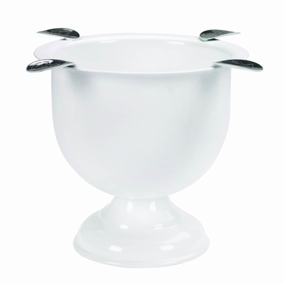 Stinky Cigar Ashtray in Pure White - CA-ST-4WH