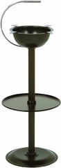 Stinky Cigar Floor Standing Ashtray - Chocolate Brown  - CA-ST-FL-BR����������������������