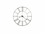 Stockton Wrought Iron Round Wall Clock - Howard Miller