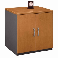 "Storage Cabinet 30"" - Series C Natural Cherry Collection - Bush Office Furniture - WC72496A"