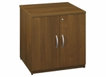"Storage Cabinet 30"" - Series C Warm Oak Collection - Bush Office Furniture - WC67596"