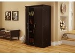 Storage Cabinet in Chocolate - Morgan - South Shore Furniture - 7259970