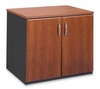 Storage Cabinet in Cornerstone Cherry / Pumice - ProFlex - O'Sullivan Office Furniture - 12617