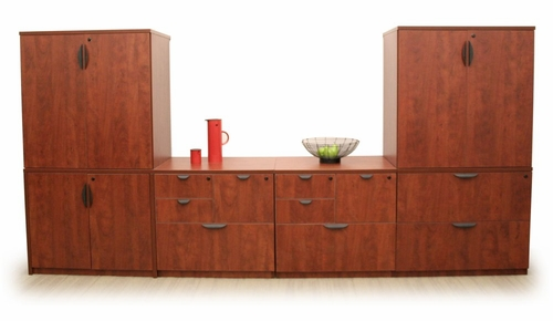 Storage Cabinets Set - Legacy Laminate - LGC-CAB-SET
