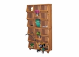 Storage Cubby in Oil Based Stain - Merry Products - MPG-EF01L
