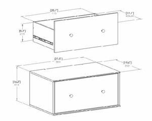 Storage Drawer - Stor it - South Shore Furniture - 5050774