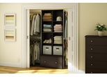 Storage Furniture Set 2 in Chocolate - Stor it - South Shore Furniture - 5059-SET-2