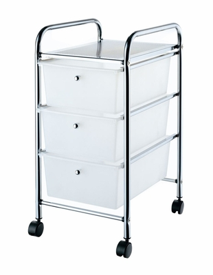 Storage Trolley in Chrome - G003