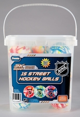 Street Hockey Balls - 15 Pack - Franklin Sports
