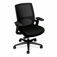 Stretch Back Work Chair - Black - HONFWCMHMMNT10T