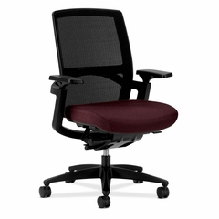 Stretch Back Work Chair - Wine - HONFWCMHMMNT69T