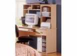 Student Desk with Hutch - Alegria Collection - Nexera Furniture - 5610