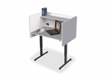Study Carrels - Grey - BLT89789