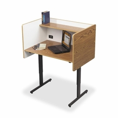 Study Carrels - Oak - BLT89788