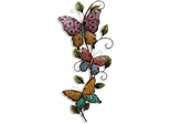 Stylecraft Butterflies on a Branch Metal Wall Plaque