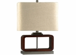Stylecraft Caramelized Espresso Table Lamp