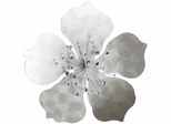 Stylecraft Metal Flower Plaque
