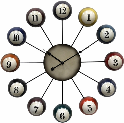 Stylecraft Pool Cue Ball Clock