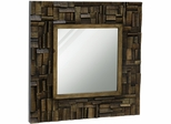 Stylecraft Rustic Wood Accent Mirror