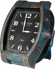 Stylecraft Verdi Wrist Watch Style Iron Clock