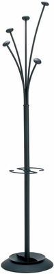 Stylish ALBA Black Festival Floor Coat Stand