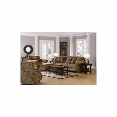 Suffolk 4pc Living Room Set in Burlap - Jackson Furniture