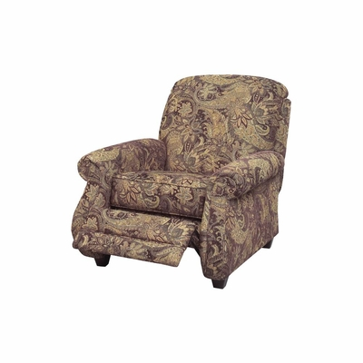 Suffolk Reclining Chair in Eggplant - Jackson Furniture