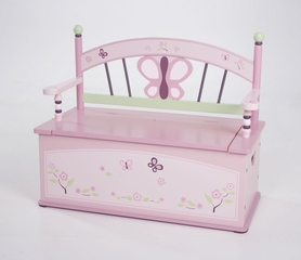Sugar Plum Bench Seat w/ Storage - LOD70004