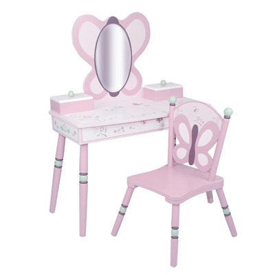 Sugar Plum Chair and Table Set - LOD70006