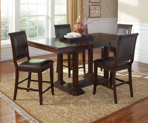 Sullivan 5 Piece Pub Set with Upholstered Seating - 101978