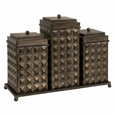 Sullivan Decorative Boxes With Tray - IMAX - 87240