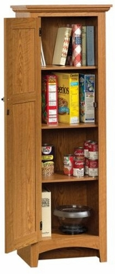 Summer Home Pantry Carolina Oak - Sauder Furniture - 401867