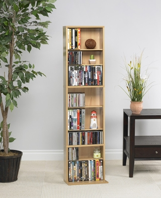 Summit Media Storage Cabinet in Maple - Atlantic - 74735728