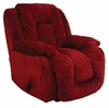 Summit Viva Burgundy Upholstered Rocker Recliner - 65045100025