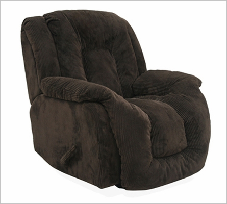 Summit Viva Chocolate Upholstered Rocker Recliner - 65045100017