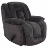 Summit Viva Grey Upholstered Rocker Recliner - 65045100010